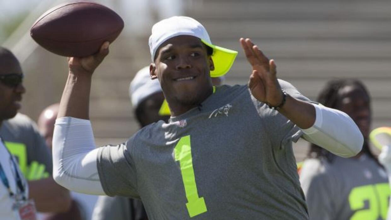 El quarterback de los Panthers estará listo para los campos de entrenami...