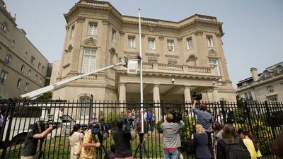 Todo listo para la reapertura de la embajada de Cuba en Washington