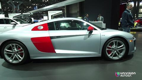 Video: Audi R8 V10 Audi Sport Edition en el Auto Show de Nueva York