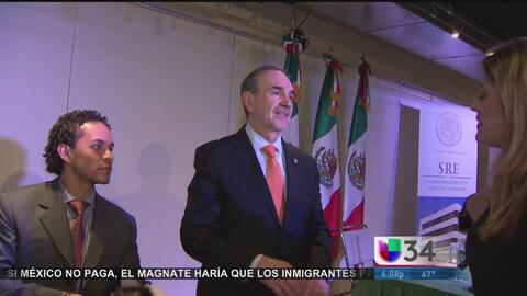 Carlos Manuel Sada es nombrado embajador de México en EEUU