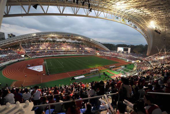 Este estadio se logró, gracias a las gestiones realizadas por el ex pres...