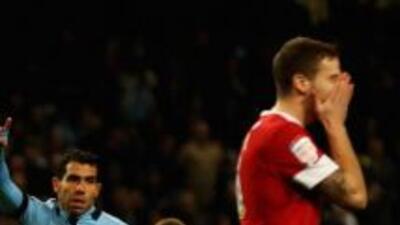 Carlos Tévez hizo tres goles para tirar por el piso las ilusiones del Ba...