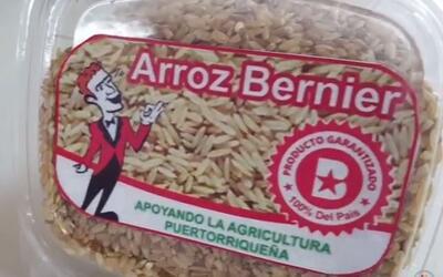 """Tira y jala por el precio del conocido """"arroz Bernier"""""""