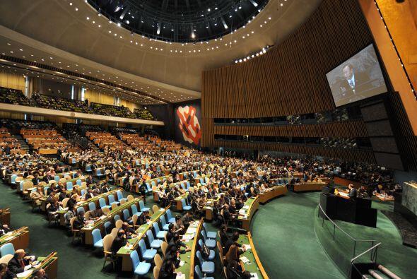 El Secretario General de la Organización de las Naciones Unidas (ONU), B...