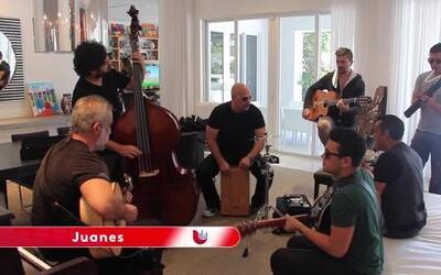 Uforia Presenta: Detras Del Escenario Con Juanes