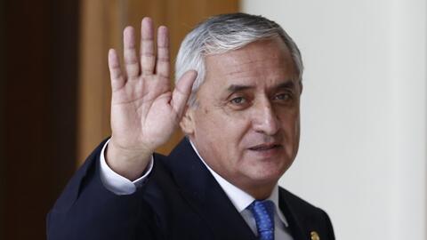 Renuncia el Presidente de Guatemala Otto Pérez Molina