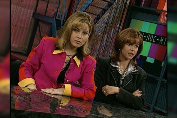 Primer Impacto nació el 14 de febrero de 1994. Las presentadoras eran My...