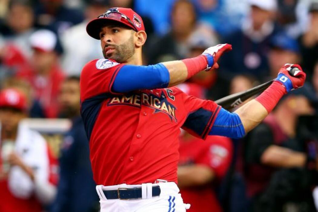El jugador dominicano José Bautista se quedó cerca de disputar la final...