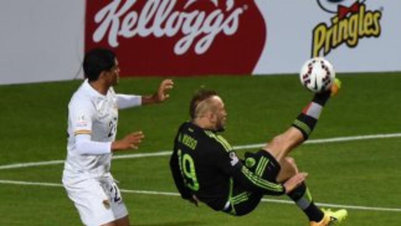 México no pasa del empate con Bolivia.