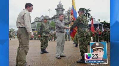 Presidente Colombia confirma secuestro de General militar
