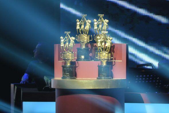Aquí, los trofeos que los escuadrones se llevarían al sabe...