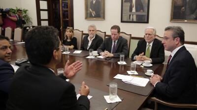 Participaron Pedro Pierluisi, Rubén Berrios, Víctor Suárez, David Bernie...