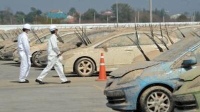 Honda destruirá más de mil vehículos dañados por las inundaciones de Tai...
