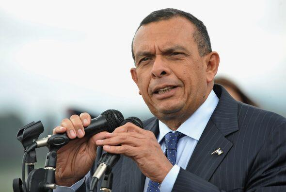 Y el polémico mandatario de Honduras, Porfirio Lobo, entre muchas...