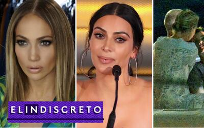 #ElIndiscreto JLo; Kim Kardashian y Orlando Bloom