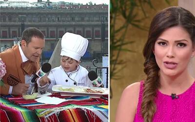 #DAEnUnMinuto: Ana tradujo el lenguaje de la mujer y la receta estuvo pa...