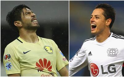 Oribe Peralta vs. Javier Hernández