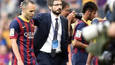 El Barcelona cerró una temporada que fue de más a menos y terminó con la...