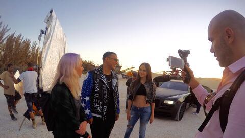 El video musical de este tema urbano se grabó en Florida.