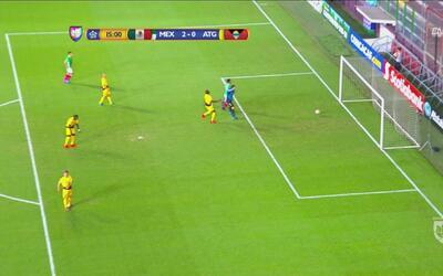 """Se """"hicieron bolas"""" entre portero y defensa  y ya es 2-0 para México sub-20"""