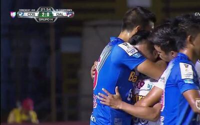 Goooolll!! Wilson Orlando Morales Ramos mete el balón y marca para Suchi...