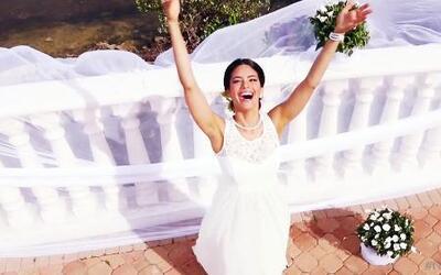 Alina, la novia que pudo llevarse a casa $10 mil