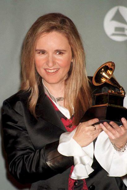 Melissa Etheridge es una de las rockeras más conocidas de Estados Unidos...