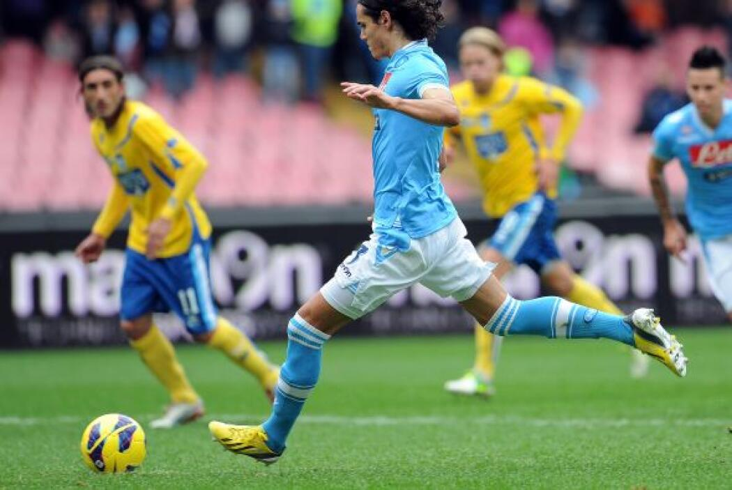 El delantero del Nápoli no para de hacer suya la Serie A italiana, así c...