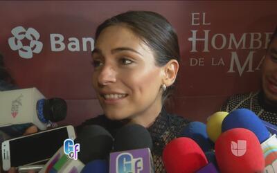 Ana Brenda Contreras aclaró si su romance la hace desatender su trabajo