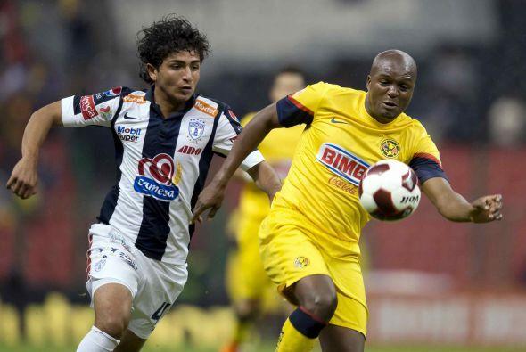 Aunque Aquivaldo Mosquera volvió al Pachuca los aficionados de los Tuzos...