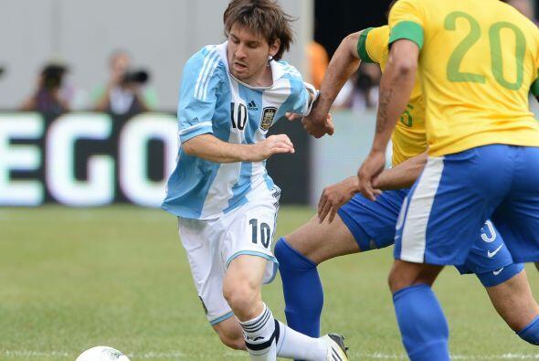 El estelar jugador del Barcelona tuvo en 'Jaque' a la defensa carioca di...