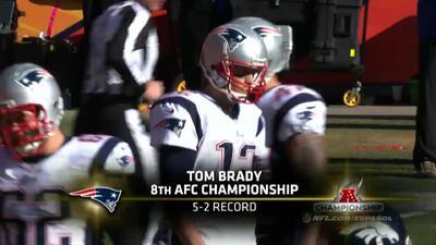 Campeonato AFC: Tom Brady highlights
