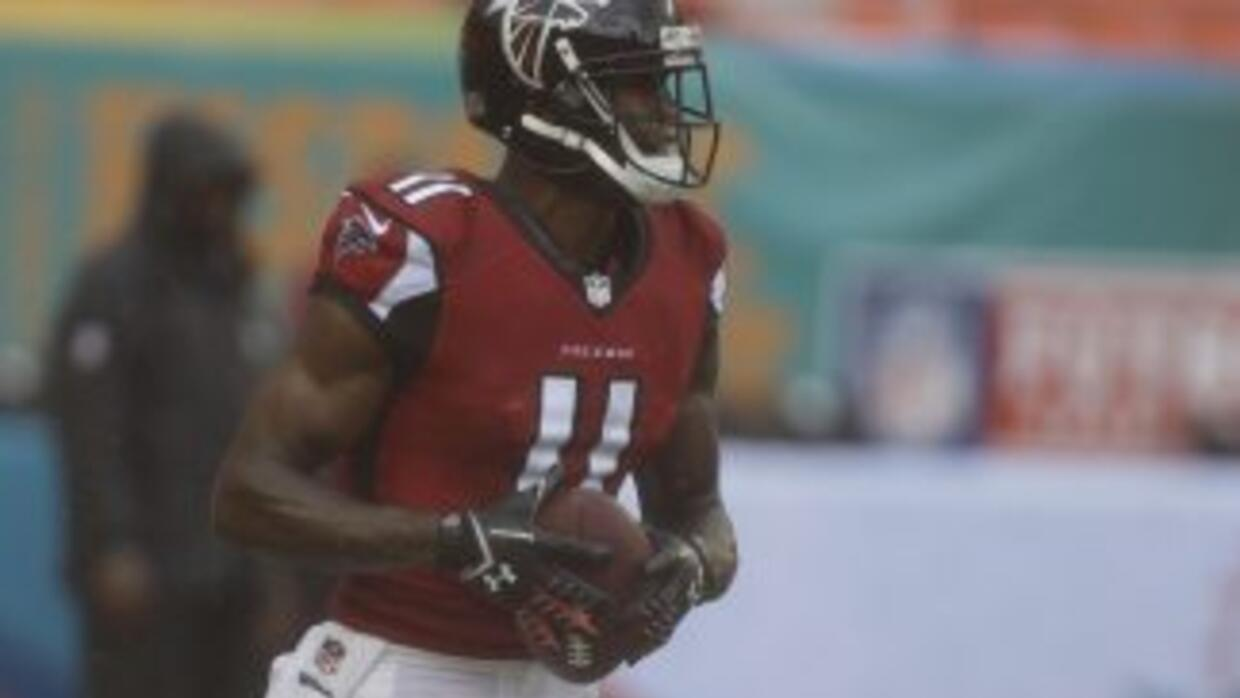 Julio Jones sigue rehabilitándose (AP-NFL).