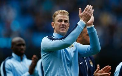 Joe Hart es uno de los tres ingleses del City que disputará la Champions.