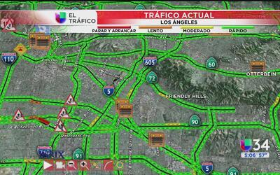 Accidente sobre la 60 complica el tránsito
