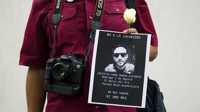 Rubén Espinosa había dejado Veracruz por sentirse amenazado