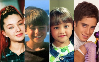 Así crecieron los niños de las telenovelas
