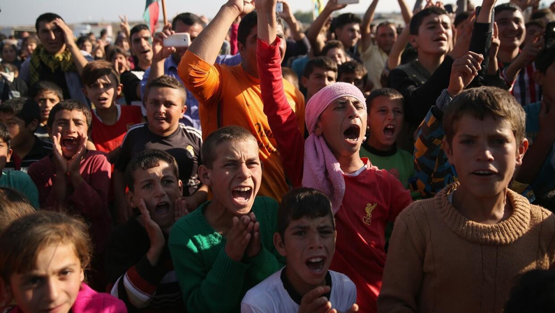 Refugiados yazidíes en Siria