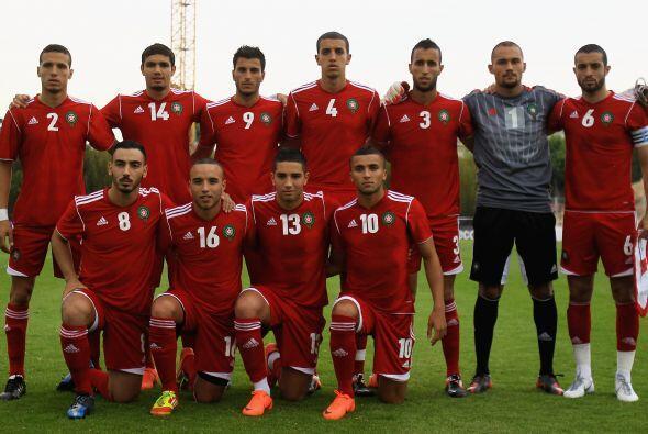 La Selección de Marruecos buscaba aprovechar su fortaleza física para im...