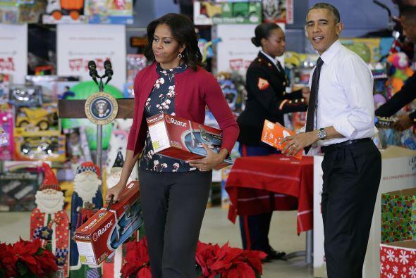 """""""Toys for tots"""" es una campaña benéfica que sólo busca ofrecer sonrisas..."""