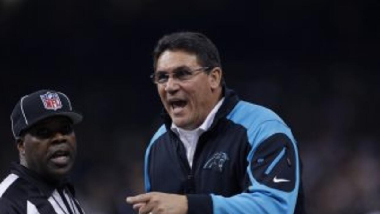 Ron Rivera impresionó con su trabajo con Panthers en 2013 (AP-NFL).