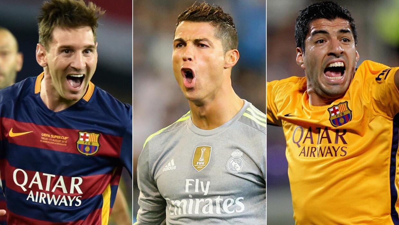 Candidatos finales al Mejor Jugador UEFA
