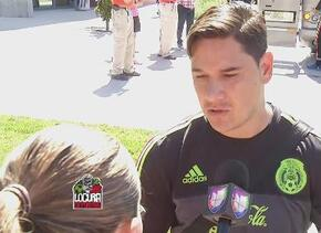 """Moisés Muñoz: """"Talavera o yo podemos estar en el arco de la Selección Me..."""