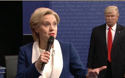 Saturday Night Live se burla del segundo debate presidencial de EEUU