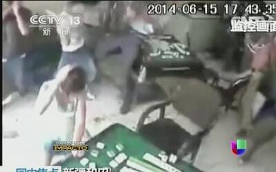 Corrió la sangre con hachas y cuchillos en un lugar no esperado en China