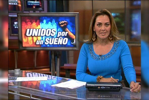 Verónica del Castillo fue presentadora de Primer Impacto Fin de S...