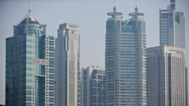Los rascacielos de Shanghai son uno de los símbolos de la pujanza económ...