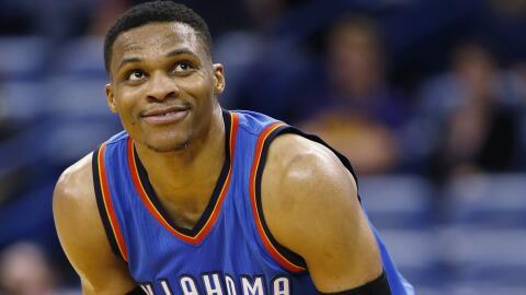 Russell Westbrook aportó 27 puntos, 12 rebotes y 10 asistencias.
