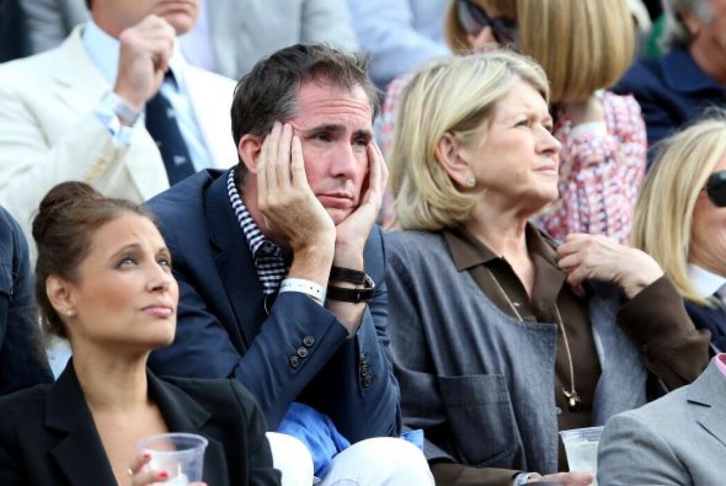 Martha Stewart - y su acompañante se ve aburrido. Mira aquí lo último en...