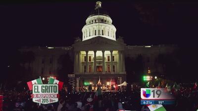 ¿Cómo se celebrará en Sacramento el Grito de Independencia?